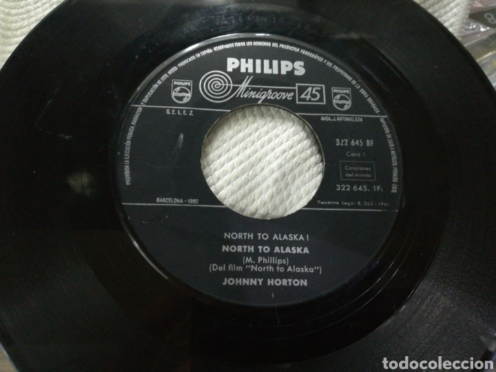 JOHNNY NORTON SINGLE NORTH TO ALASKA! B.S.O. ESPAÑA 1961 (Música - Discos - Singles Vinilo - Bandas Sonoras y Actores)