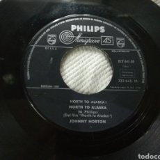 Discos de vinilo: JOHNNY NORTON SINGLE NORTH TO ALASKA! B.S.O. ESPAÑA 1961. Lote 152461784