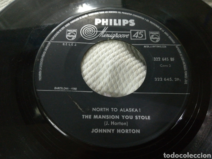 Discos de vinilo: Johnny norton single north to alaska! B.s.o. españa 1961 - Foto 2 - 152461784