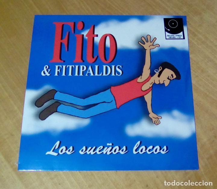 FITO & FITIPALDIS - LOS SUEÑOS LOCOS (LP + CD 2014, WARNER MUSIC SPAIN S.L. 2564626437) PRECINTADO (Música - Discos - LP Vinilo - Grupos Españoles de los 90 a la actualidad)