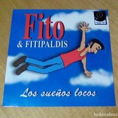 Discos de vinilo: FITO & FITIPALDIS - LOS SUEÑOS LOCOS (LP + CD 2014, WARNER MUSIC SPAIN S.L. 2564626437) PRECINTADO. Lote 152462362