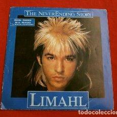 Discos de vinilo: LIMAHL (SINGLE 1984) LA HISTORIA INTERMINABLE-BSO BANDA SONORA DE LA PELICULA THE NEVER ENDING STORY. Lote 152462518