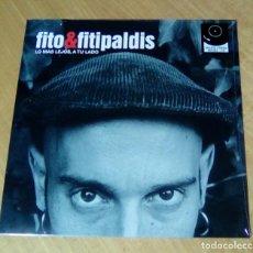 Discos de vinilo: FITO & FITIPALDIS - LO MÁS LEJOS, A TU LADO (LP + CD 2014, WARNER MUSIC SPAIN 2564630957) PRECINTADO. Lote 152463202
