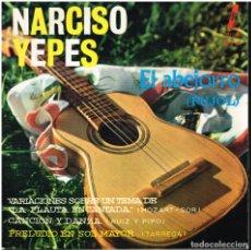Discos de vinilo: NARCISO YEPES - EL ABEJORRO / VARIACIONES FLAUTA ENCANTADA + 2 - EP 1963. Lote 152465814