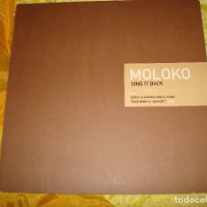 Discos de vinilo: MOLOKO. SING IT BACK. PIPERMINT JAM, 1999. EDC. ALEMANA. MAXI-SINGLE (#). Lote 152466070