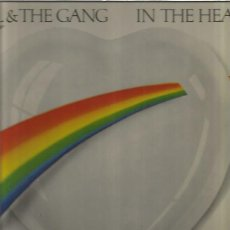 Discos de vinilo: KOOL THE GANG IN THE HEART. Lote 152471542