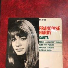 Discos de vinilo: FRANCOISE HARDY EP DE 1962. Lote 152472020