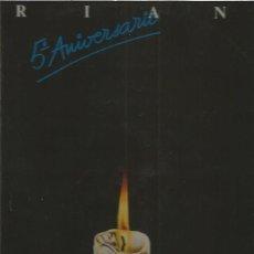 Discos de vinilo: TRIANA 5º ANIVERSARIO. Lote 152475038