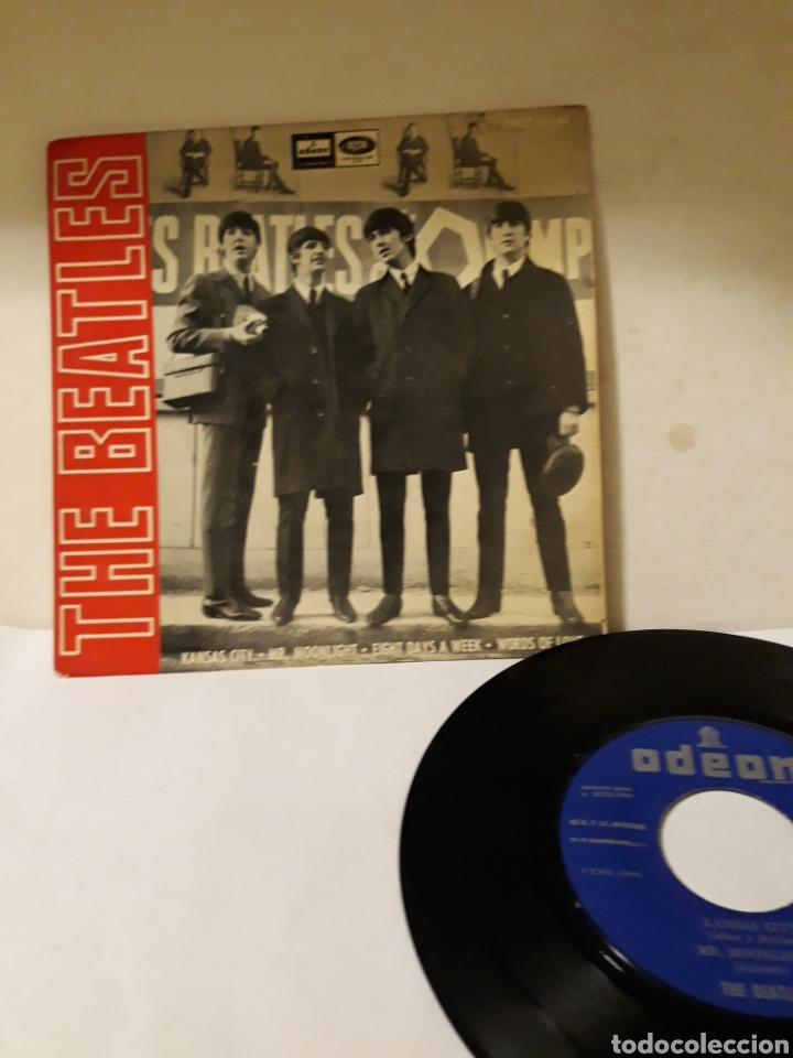 DISCO THE BEATLES KANSAS CITY (Música - Discos - Singles Vinilo - Rock & Roll)