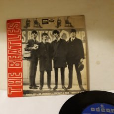 Discos de vinilo: DISCO THE BEATLES KANSAS CITY. Lote 152476918