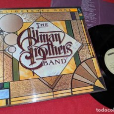 Discos de vinilo: THE ALLMAN BROTHERS BAND ENLIGHTENED ROGUES LP 1979 CAPRICORN ESPAÑA SPAIN GATEFOLD EX. Lote 152484566