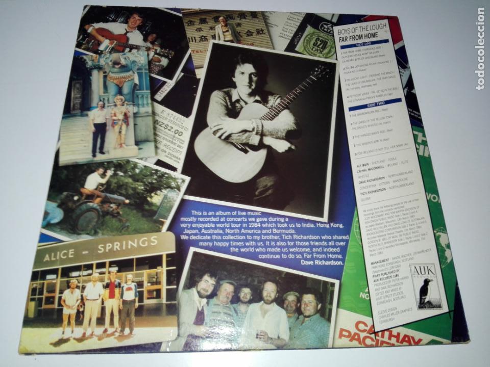 Discos de vinilo: LP-BOYS OF THE LOUGH-FAR FROM HOME LIVE-BUEN ESTADO-1986-AUK RECORDS-9 TEMAS-VER FOTOS - Foto 2 - 152487470