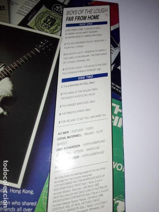 Discos de vinilo: LP-BOYS OF THE LOUGH-FAR FROM HOME LIVE-BUEN ESTADO-1986-AUK RECORDS-9 TEMAS-VER FOTOS - Foto 3 - 152487470