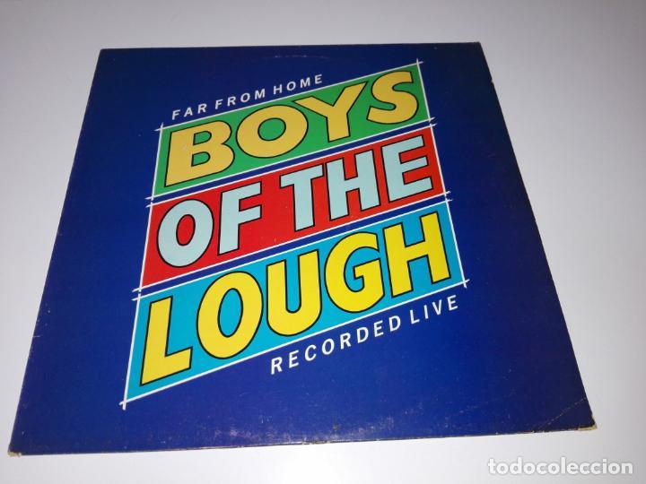 Discos de vinilo: LP-BOYS OF THE LOUGH-FAR FROM HOME LIVE-BUEN ESTADO-1986-AUK RECORDS-9 TEMAS-VER FOTOS - Foto 6 - 152487470
