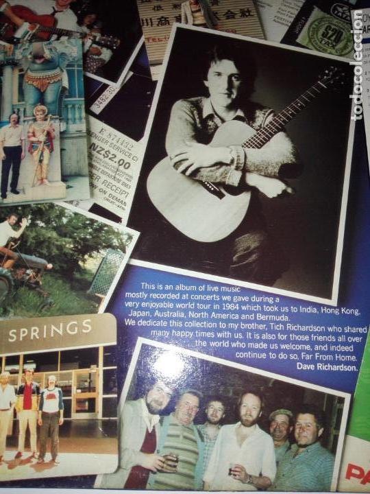 Discos de vinilo: LP-BOYS OF THE LOUGH-FAR FROM HOME LIVE-BUEN ESTADO-1986-AUK RECORDS-9 TEMAS-VER FOTOS - Foto 7 - 152487470