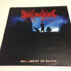 Discos de vinilo: BLOOD RED THRONE – MONUMENT OF DEATH ---DEATH METAL. Lote 152489262