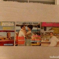 Discos de vinilo: VINILO SINGLE MANOLO ESCOBAR. LOTE DE 3.. Lote 152493514