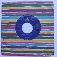 Discos de vinilo: THE BEATLES - 45 SPAIN JUKEBOX - TWIST & SHOUT / BOYS - ODEON DSOL 66.055 - BLUE LABEL. Lote 152500566