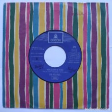 Discos de vinilo: THE BEATLES - 45 SPAIN JUKEBOX - SHE LOVES YOU / I WANT TO HOLD YOUR HAND - ODEON DSOL 66.056 - BLUE. Lote 152500678