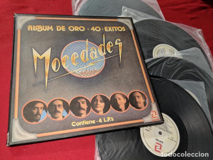 MOCEDADES ALBUM DE ORO 40 EXITOS 4LP 1982 ZAFIRO CAJA BOX AMAYA (Música - Discos - LP Vinilo - Grupos Españoles 50 y 60)