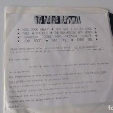 Discos de vinilo: SINGLE (VINILO)-PROMOCION- DE HIP HOUSE MEGAMIX AÑOS 80. Lote 152507462