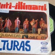 Discos de vinilo: SINGLE (VINILO) DE INTI -ILLIMANI AÑOS 70. Lote 152508642