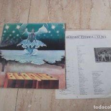 Vinyl-Schallplatten - BLOQUE, HOMBRE TIERRA Y ALMA, CHAPA DISCOS ,1979, 1º EDIC ORIG, DOBLE PORTADA,ROCK PROG, SPAIN, LP - 152514534