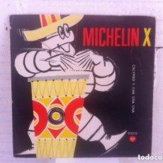 Discos de vinilo: MICHELIN CALYPSON Y CHA CHA CHA SINGLE FLEXIBLE. Lote 152519862
