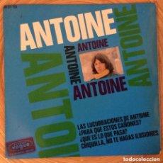 Discos de vinilo: ANTOINE EP EDIC ESPAÑA HISPAVOX BUENA CONSERVACION. Lote 152520406