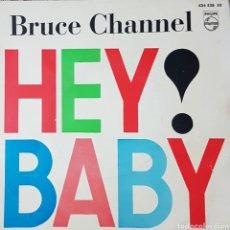 Discos de vinilo: BRUCE CHANNEL EP SELLO PHILIPS AÑO 1962 EDITADO EN ESPAÑA. Lote 152524622