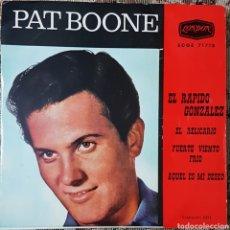 Discos de vinilo: PAT BOONE EP SELLO LONDON EDITADO EN ESPAÑA AÑO 1962. Lote 152525109