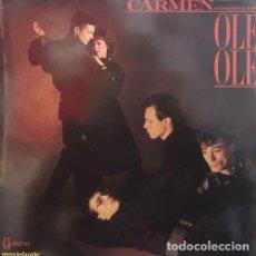 Discos de vinilo: OLE OLE - CARMEN (CONNSPIRACION) - MAXI SINGLE DE VINILO EDICION HOLANDESA. Lote 152528250