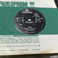 Discos de vinilo: THE BEATLES SINGLE HELP! / I'M DOWN INGLATERRA 1965. Lote 152529654