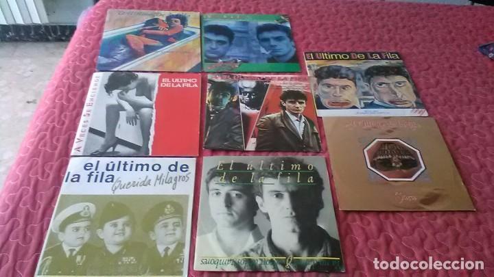 EL ULTIMO DE LA FILA, SINGELS (Música - Discos de Vinilo - Maxi Singles - Grupos Españoles de los 70 y 80)