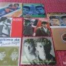 Discos de vinilo: EL ULTIMO DE LA FILA, SINGELS. Lote 152530102