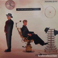 Discos de vinilo: PET SHOP BOYS - LEFT TO MY OWN DEVICES - MAXI SINGLE DE VINILO EDICION ESPAÑOLA. Lote 152533426