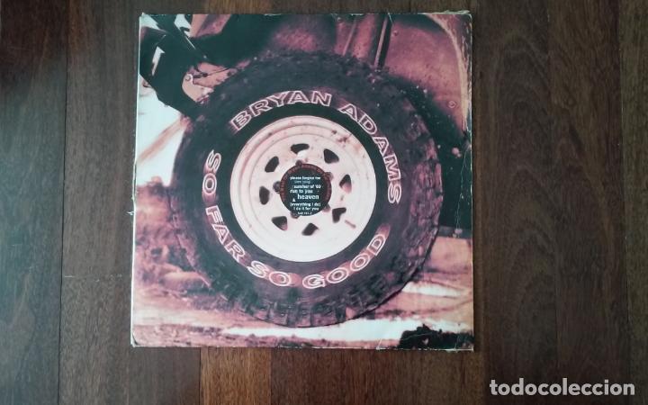 BRYAN ADAMS-SO FAR SO GOOD.2 LP (Música - Discos - LP Vinilo - Pop - Rock Extranjero de los 90 a la actualidad)