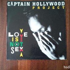 Discos de vinilo: CAPTAIN HOLLYWOOD PROJECT-LOVE IS NOT SEX.LP. Lote 152550822