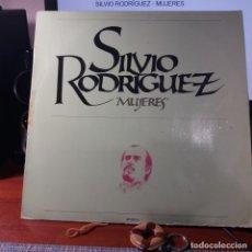Discos de vinilo: SILVIO RODRÍGUEZ - MUJERES. Lote 152555534