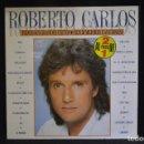 Discos de vinilo: ROBERTO CARLOS - TODOS SUS GRANDES EXITOS (SUS 20 MEJORES CANCIONES) - 2 LP. Lote 152558222