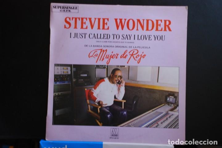 STEVIE WONDER (Música - Discos de Vinilo - Maxi Singles - Pop - Rock - New Wave Extranjero de los 80)