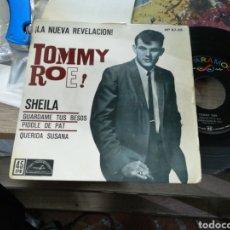 Discos de vinilo: TOMMY ROE EP SHEILA + 3 ESPAÑA 1962. Lote 152561420