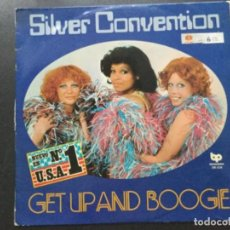 Discos de vinilo: SILVER CONVENTION -GET UP AND BOOGE. Lote 152564854