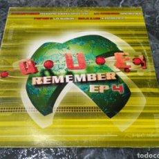Discos de vinilo: XQUE? REMEMBER EP 4. Lote 152577550