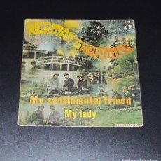 Discos de vinilo: HERMAN´S HERMITS --MY SENTIMENTAL FRIEND ----MY LADY AÑO 1969 ORIGINAL J-006-90.151. Lote 152578646