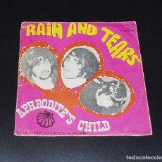 Discos de vinilo: APHRODITE´S CHILD - RAIN AND TEARS AÑO 1968. Lote 152579278