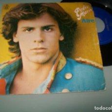 Discos de vinilo: PEDRO MARÍN - AIRE + SHA LA LA LA ¡ANIMATE! ... SINGLE DE HISPAVOX 1980. Lote 152580514