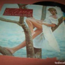 Discos de vinilo: OLIVIA NEWTON-JOHN - MAKE A MOVE ON ME SINGLE DE 1982 - MCA RECORDS - U.S.A. Lote 152582122