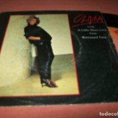 Discos de vinilo: OLIVIA NEWTON JOHN - A LITTLE MORE LOVE + BORROWED TME .. SINGLE DE 1978 - ESPAÑOL. Lote 152582614