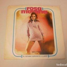 Discos de vinilo: SINGLE ROSA MORENA. EL GITANO SEÑORITO. LLEVO. BELTER 1971 SPAIN (DISCO PROBADO Y BIEN). Lote 152586302